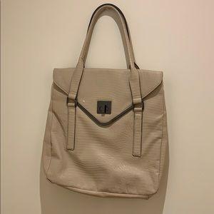 Animal skin Tan handbag